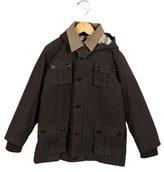 Burberry Boys' Reversible Parka Hooded Jacket