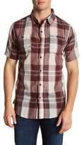 Burnside Plaid Short Sleeve Regular Fit Shirt