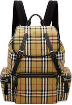 Burberry Yellow Vintage Check Sailing Rucksack