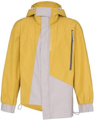 A-Cold-Wall* asymmetric hem hooded raincoat