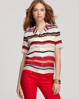 10 Crosby Derek Lam Shirt - Multi Stripe