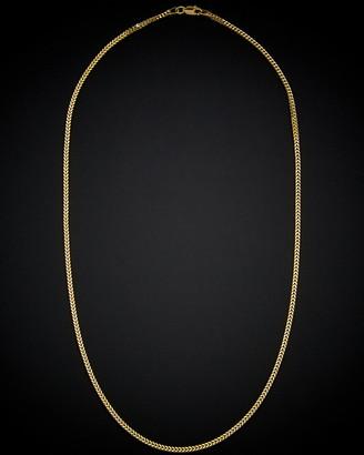 Italian Gold 14K Franco Link Necklace
