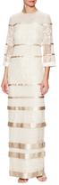Temperley London Long MIxed Cruz Dress