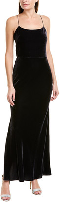 Jason Wu Shine Velvet Slip Dress