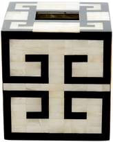 Labrazel Greek Key Tissue Box