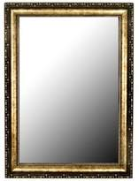 Hitchcock-Butterfield Roman Beaded 66-Inch x 30-Inch Mirror in Black/Gold