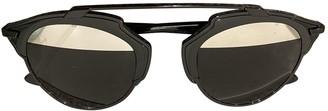 Christian Dior So Real Black Metal Sunglasses