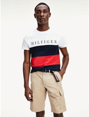 Tommy Hilfiger Organic Cotton Colorblock T-Shirt