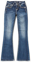 Miss Me Girls Big Girls 7-16 Embroidered-Pocket Bootcut Jeans