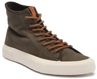 Frye Ludlow Canvas High-Top Sneaker