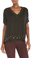 Religion Metal Accented Top