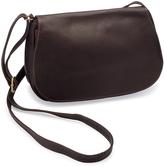Le Donne Café Eudora Leather Crossbody Bag