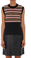 Marni Women's Crochet Sweatervest-BLACK