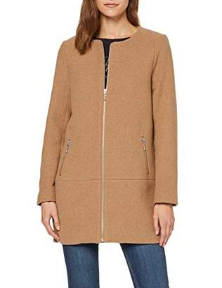 Only Women's Onlkatharina Rianna Wool Coat Cc OTW Light Grey Melange