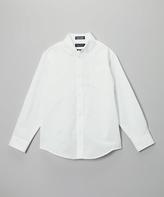 Nautica White Oxford Button-Up - Boys
