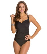 Miraclesuit Solid Sanibel One Piece Swimsuit (DD Cup) 8122946