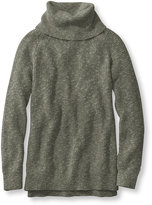L.L. Bean Women's Cotton Waffle Sweater, Cowlneck Pullover