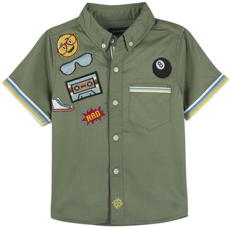 Andy & Evan Patches Short Sleeve Shirt