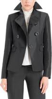 Max Studio Heavy Satin Tailored Jacket