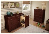 South Shore Precious Collection 4-Drawer Chest - Royal Cherry