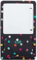 Gear-Up Black Confetti Dot Dry Erase Pocket