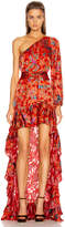 Alexis Marseill Dress in Red Flor | FWRD