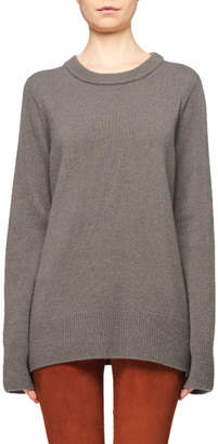 The Row Sibina Wool-Cashmere Crewneck Sweater