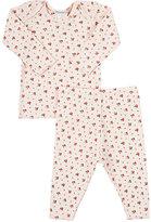 Bonpoint Floral Top & Pants Set-PINK