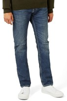 Topman Men's Ripped Slim Fit Jeans