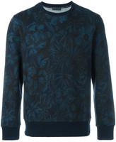 Etro tonal floral print sweatshirt - men - Cotton/Polyamide - M