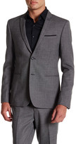 The Kooples Pindot Two Button Suit Jacket