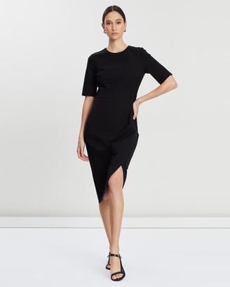 Banana Republic SS Wrap Skirt Sheath Dress