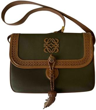 Loewe Green Cloth Handbags