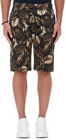 Vince Men's Tropical-Leaf-Print Cotton Shorts