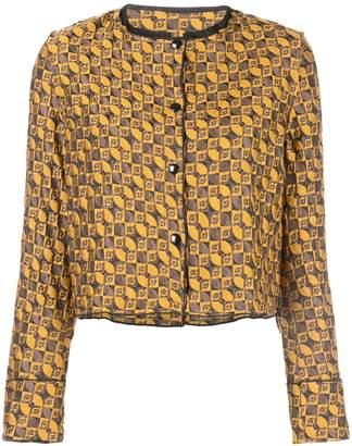 Suzanne Rae geometric jacquard jacket