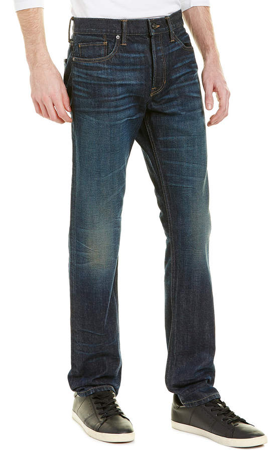 Vince Selvedge Dark Vintage Wash Straight Leg