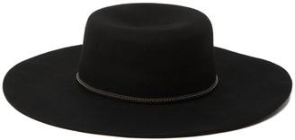 Frye Felt Boater Hat