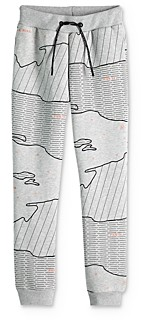 Scotch Shrunk Boys' Map Print Sweatpants - Little Kid, Big Kid