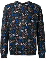 Paul Smith allover print sweatshirt - men - Cotton - XS