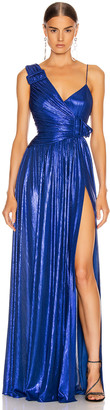 retrofete Natalie Dress in Royal Blue | FWRD
