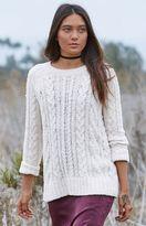 La Hearts Cozy Cable Stitch Pullover Sweater