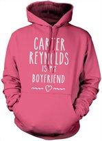 HotScamp Men's Carter Reynolds Is My Boyfriend - Vlogger Star Merch Hoodie Cameron Dallas Youtubers Magcon