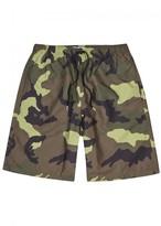 Givenchy Camouflage Swim Shorts