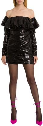 ATTICO The Sequined Mini Dress