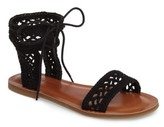 Lucky Brand Women's Ariah Ankle Tie Sandal