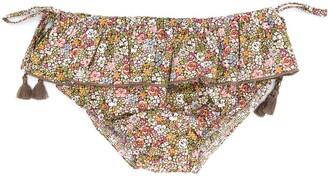 The New Society Iris floral-print bikini bottoms