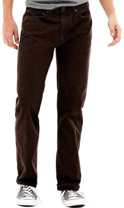 Dockers 5 Pocket Straight-Fit Flat-Front Pants