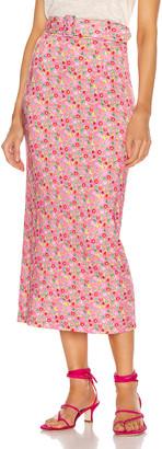 BERNADETTE Monica Skirt in Jellybee Pink | FWRD