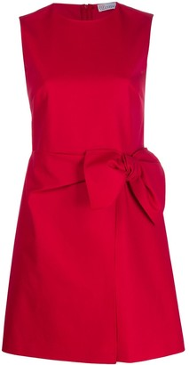 RED Valentino Bow Detail Mini Dress