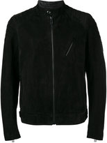 Belstaff soft biker jacket - men - Leather/Viscose - 46